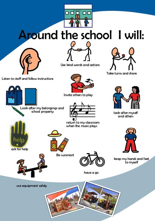 Around the School