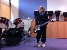 Electric Guitar and Drum Kit